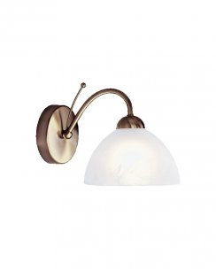 Searchlight Milanese Single Light Traditional Decorative Wall Light 1131-1AB
