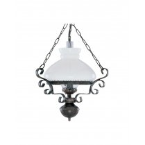 Searchlight Oil Lantern Single Light Traditional Pendant Light 576RU
