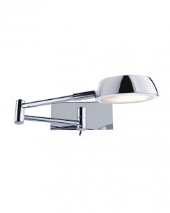 Searchlight Pluto Single Light Modern Articulated Wall Light 3863CC