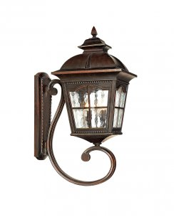 Searchlight Pompeii Single Light Traditional Porch Light 1571BR
