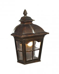 Searchlight Pompeii Single Light Traditional Porch Light 1576BR