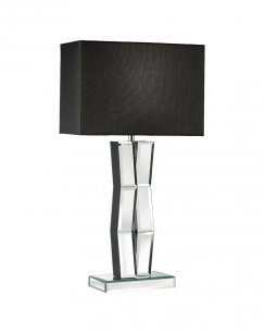 Searchlight Reflection Single Light Modern Incidental Table Lamp 5110BK