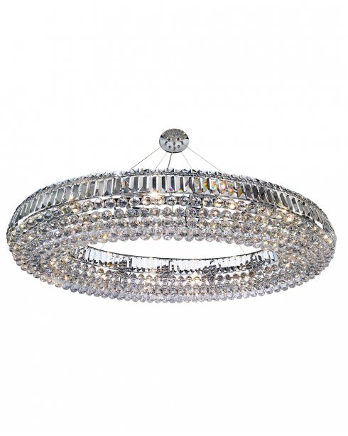 Searchlight Safia 24 Light Crystal Pendant Light 9190CC