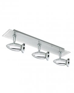 Searchlight Saturn 3 Light Modern Spotlight Fitting 8763CC