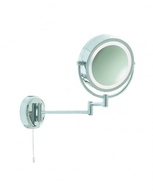 Searchlight Shaving Mirror Modern Chrome Bathroom Mirror 11824