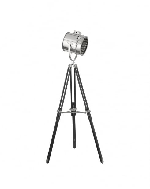 Searchlight Stage Lamps Modern Chrome Articulated Floor Lamp 5015