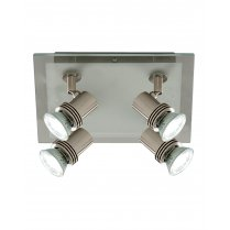 Searchlight Top Hat 4 Light Modern Spotlight Fitting 7844-4