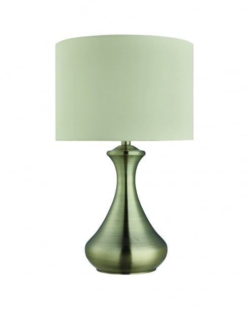 Searchlight Touch Modern Brass Incidental Table Lamp 2750AB