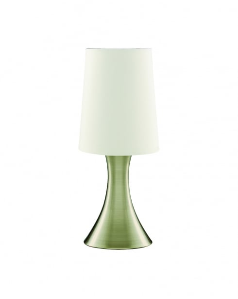 Searchlight Touch Modern Brass Incidental Table Lamp 3922AB