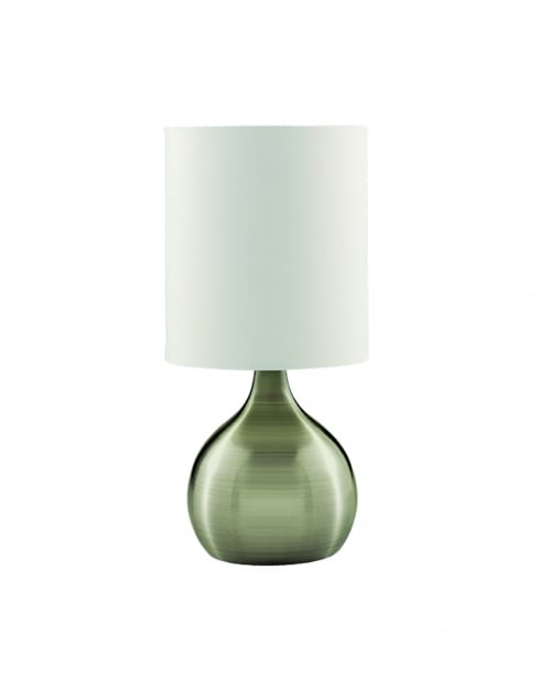 Searchlight Touch Modern Brass Incidental Table Lamp 3923AB