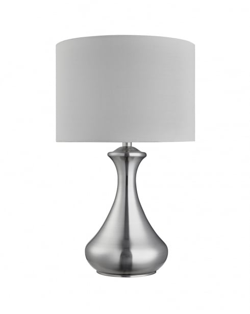 Searchlight Touch Modern Silver Incidental Table Lamp 2750SS