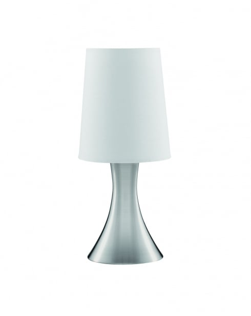 Searchlight Touch Modern Steel Incidental Table Lamp 3922SS