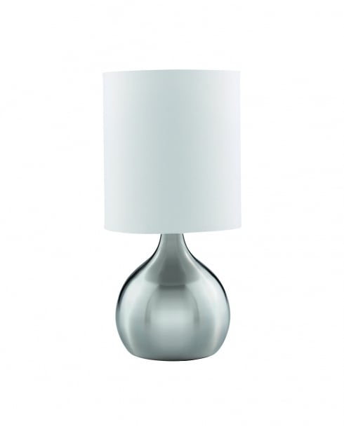 Searchlight Touch Modern Steel Incidental Table Lamp 3923SS