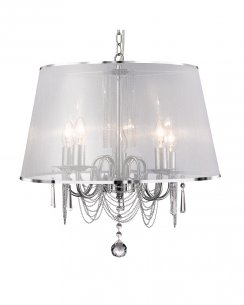 Searchlight Venetian 5 Light Modern Multi-Arm Pendant 1485-5CC