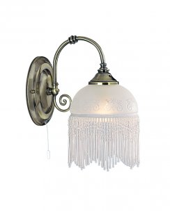 Searchlight Victoriana Single Light Traditional Decorative Wall Light 3151-1AC