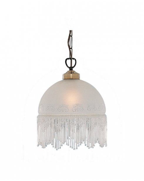 Searchlight Victoriana Single Light Traditional Pendant Light 900-10AC