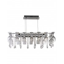 Searchlight Vino 10 Light Crystal Pendant Light 41510-10CC