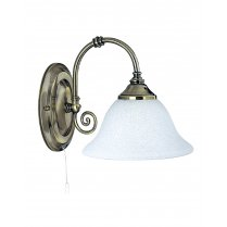 Searchlight Virginia Single Light Traditional Decorative Wall Light 9351-1