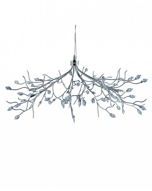 Searchlight Willow 10 Light Traditional Multi-Arm Pendant 8110-10CC