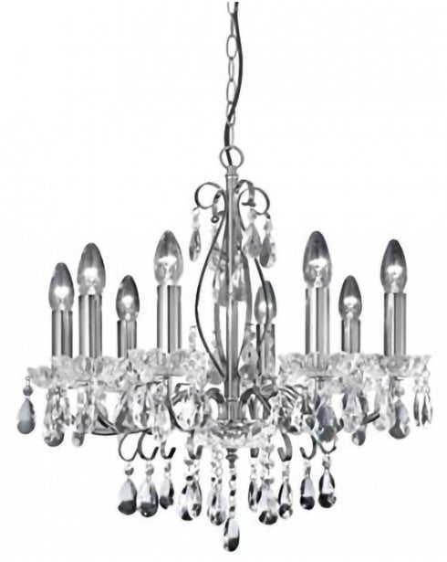Searchlight Sienna Chandelier 8848-8CC