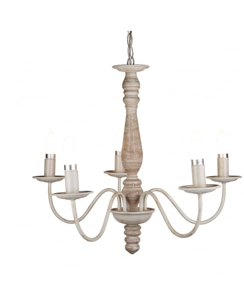 Searchlight Sycamore Chandelier 9235-5BR