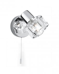 Searchlight Triton Single Light Modern Wall Mounted Spotlight 3761CC