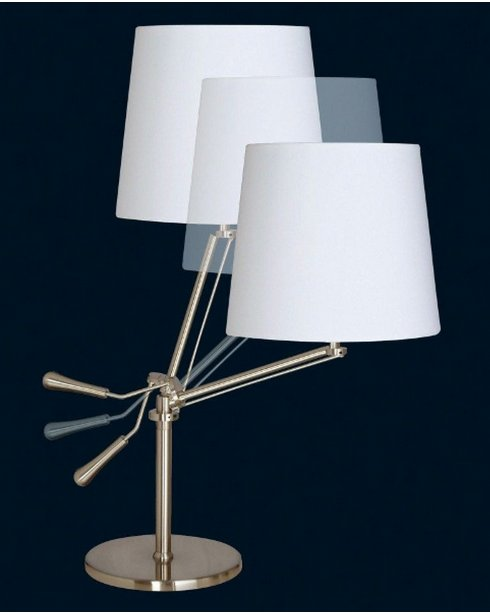 Sompex Knick  Modern Chrome Articulated Table Lamp 91150