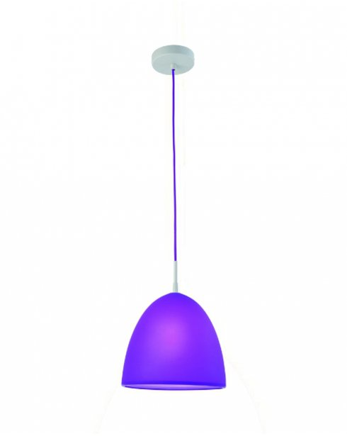 Sompex Numy Modern Purple Silicone Pendant Light 92248