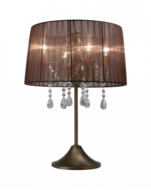 Sompex Organza  Modern Bronze Incidental Table Lamp 79351