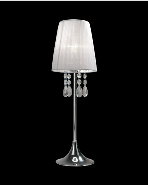 Sompex Organza  Modern White Incidental Table Lamp 79314