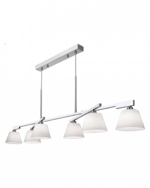 Sompex Spirit II Modern Chrome Pendant Light 92371