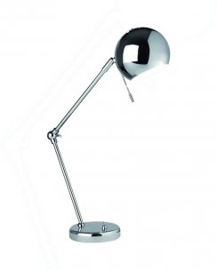 Sompex Tina  Modern Chrome Desk Lamp 92231