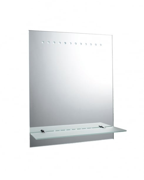 battery powered led bathroom mirror endon taro battery operated led bathroom mirror 61596 22613